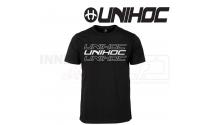 Unihoc T-shirt - Triple black