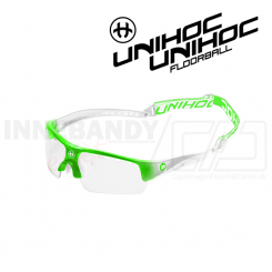 Unihoc Victory Eyewear Jr neon green / white