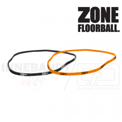 Zone Hairband Slim neon orange / black