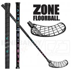 Zone Monstr Airlight 25 black/rainbow - Floorballstav