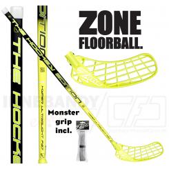Zone Hyper Hockey Ultralight 27 neon yellow