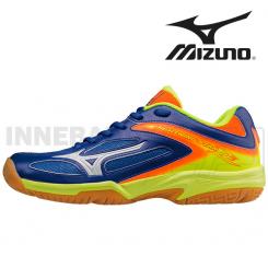 Mizuno Lightning Star Z2 Junior surf/white/orange