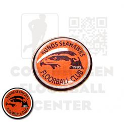 End cap med logo - Sunds Seahawks