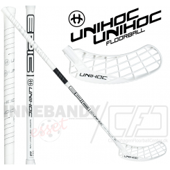 Unihoc Epic Super Top Light 26 white/black