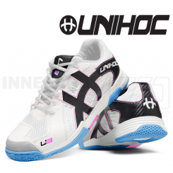 Unihoc U3 Power Women white/bisbee blue