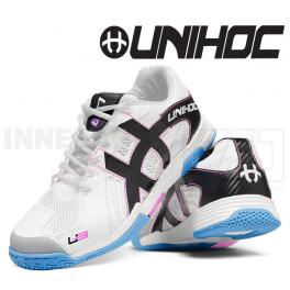 Unihoc U3 Power Women white/bisbee blue