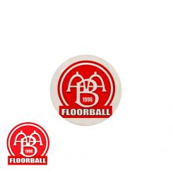 End cap med logo - Aab Floorball