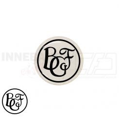 End cap med logo - Brørup Floorball