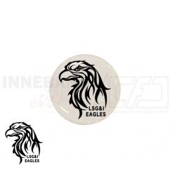 End cap med logo - Lunderskov LSG&I Eagles