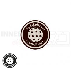 End cap med logo - Sydsjællands Floorball Club