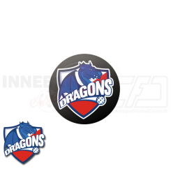 End cap med logo - HG/Næstved Dragons