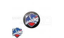 End cap med logo - HG/Næstved Dragons