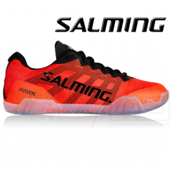 Salming Hawk Shoe Men Black/Lava Red
