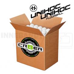 Unihoc Crater Floorballbold Boks - 400 stk.