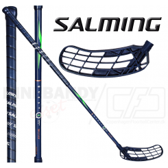 Salming Q1 X-shaft KickZone TipCurve 3° 29 navy / fluo green