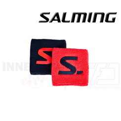 Salming Wristband Short - 2 pack Coral / Navy