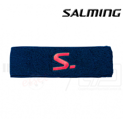 Salming Headband Knitted Navy/Coral