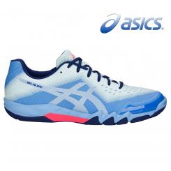 Asics Gel Blade 6 - Dame - blue / silver