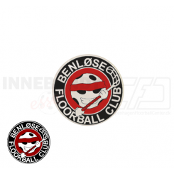 End cap med logo - Benløse Floorball Club