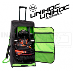 Unihoc Goalie Bag Oxygen Line Large (with wheels) 125 L