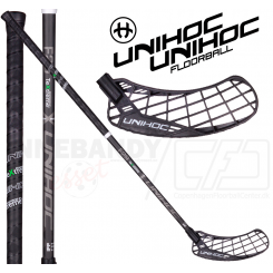 Unihoc Epic TeXtreme Feather Light 29 black - Floorballstav