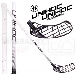 Unihoc Unity Curve 3.0° STL 26 black/white - Floorballstav