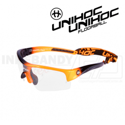 Unihoc Victory Eyewear Kids neon orange / black
