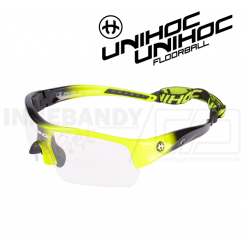 Unihoc Victory Eyewear Jr neon yellow / black