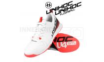 Unihoc U4 PLUS LowCut Men white / red