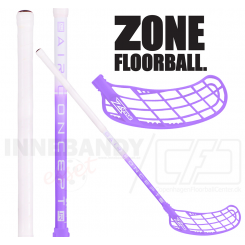 Zone Force AIR Junior 35 white/violet (TS)