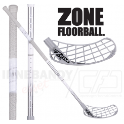 Zone Monstr AIR Superlight Curve 1.0° 27 silver - Floorballstav