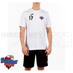 Trænings T-shirt - Skælskør Eagles - Combi S/S hvid