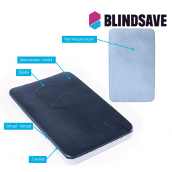 Blindsave Mix Padding - black