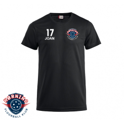 Trænings T-shirt - Hørning Floorball - ICE-T sort