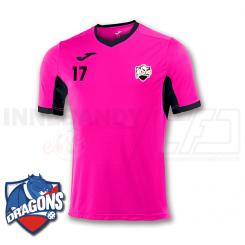 Herre Spilletrøje (Ekstra) - HG/Næstved Dragons - Pink