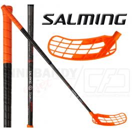 Salming Q1 TourLite Aero Kickzone 27 black/orange Oval