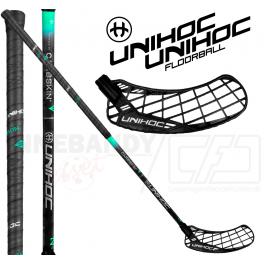Unihoc Epic Carbskin 26 black
