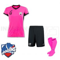Dame Spillesæt - HG/Næstved Dragons - Pink