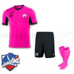 Herre Spillesæt - HG/Næstved Dragons - Pink