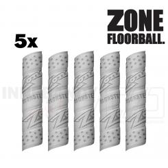 Zone Monster Grip Grå - Floorball Greb - 5 pack
