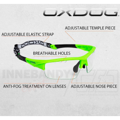 Oxdog Spectrum Eyewear Jr/Sr green