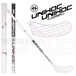 Unihoc Player 26 X-Long white/black