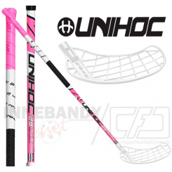 Unihoc Infinity Player Top Light II 29 white/pink