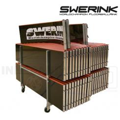 Swerink Floorball Bander, sort - Fullsize bane 20x40 meter