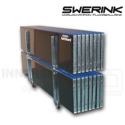 Swerink Floorball Bander - Splitter sæt 20x40 m, hvid