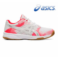 Asics Gel Tactic GS - Junior - white/silver