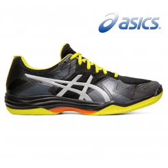 Asics Gel Tactic - Herre - black/silver