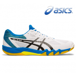 Asics Gel Blade 7 - Herre - white/black