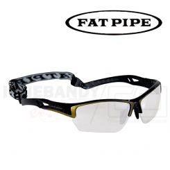 Fat Pipe Protective Eyewear Jr black/gold
