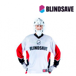 Blindsave Goalie Jersey VK Edition - white